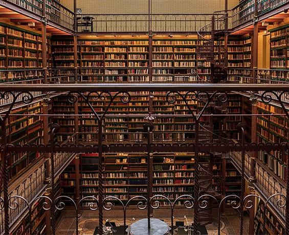 Cuypersbibliotheek in het Rijksmuseum