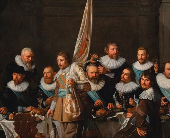 Hermitage Amsterdam Groepsportret Govert Flinck