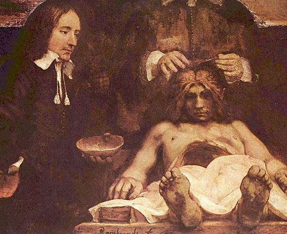 Hermitage Amsterdam 'Anatomisch les van Dr. Deijman'