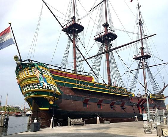 Scheepvaart Museum VOC-schip Amsterdam